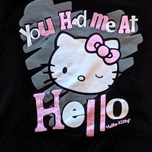 Hello Kitty tee shirt girl's sz S